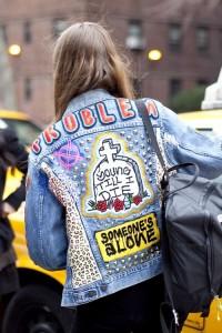 giacca jeans custom