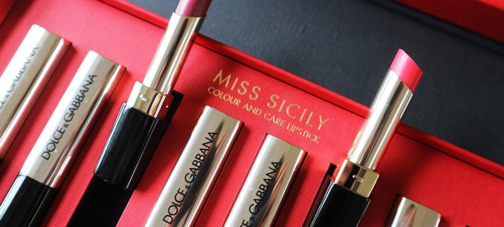 Miss Sicily Lipsticks by Dolce Gabbana