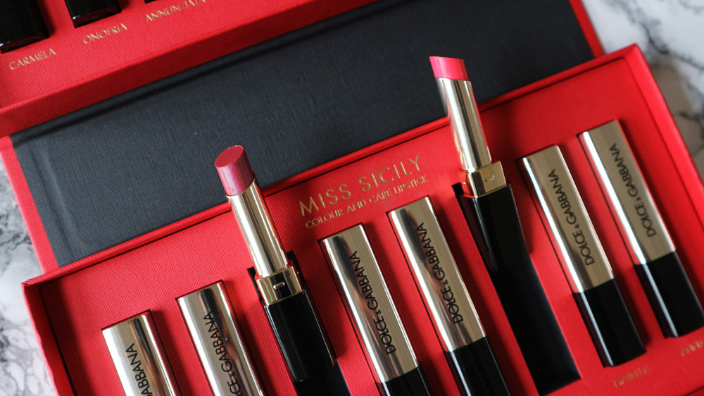 2ae39408eaf Miss Sicily Lipsticks by Dolce Gabbana | The Ugly Truth of V