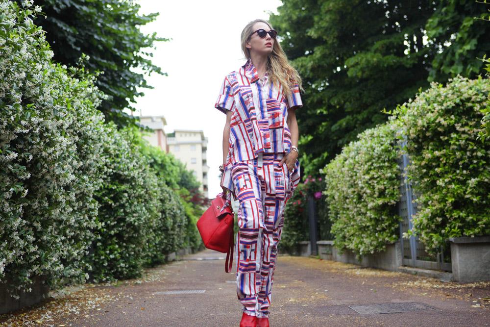 come indossare il pigiama