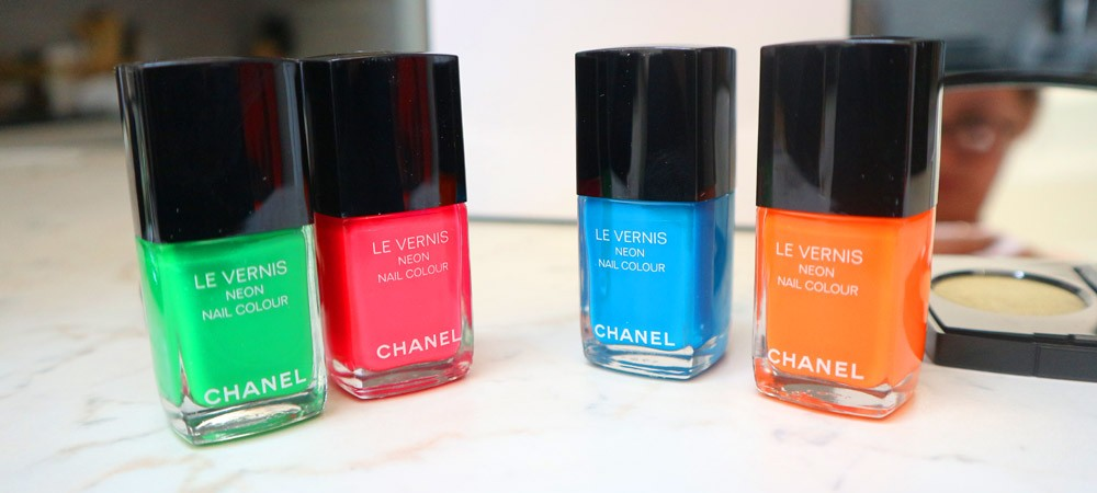 Chanel Make up 2017: Neon Wave