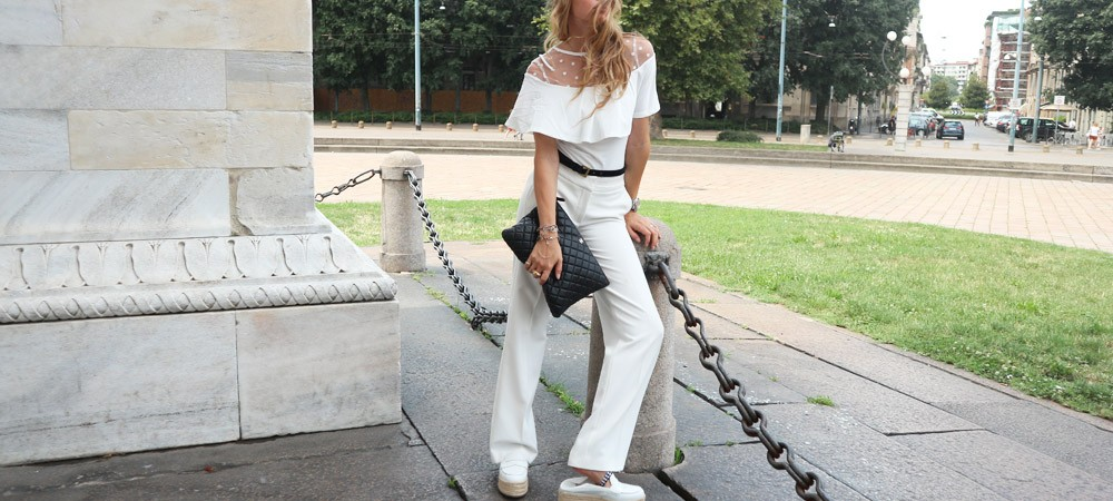 Look Total White: I cliché da svelare