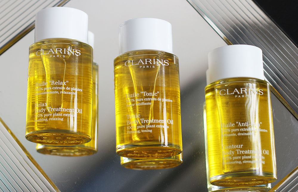 clarins olio corpo