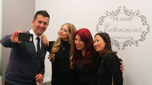 pr hair extension luxury suite